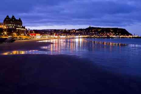 Britannia Hotels - One night Scarborough stay for two with breakfast, £75 with dinner and wine - Save 0%