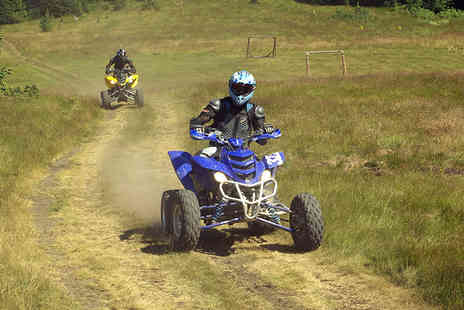H A Quads - Five mile quad biking experience for one or two - Save 52%