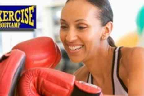 Boxercise Bootcamp - Choice of Ten Exercise Sessions, Including Boxercise, TRX Suspension, or Kettlebell - Save 62%