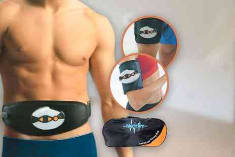 Internet Shop - An abs, arms and legs toning belt and electronic pads - Save 61%
