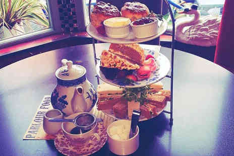 The Parlour - Sparkling afternoon tea for two people - Save 51%