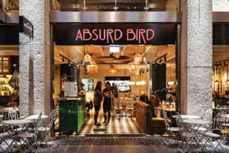 Absurd Bird - Three Course Meal for 2 - Save 40%