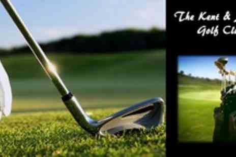 The Kent & Surrey Golf Club - Enjoy a round of golf with a partner for Get a free coffee and bacon roll when you finish your perfect round - Save 67%