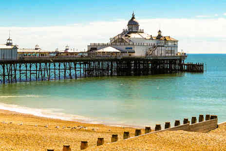 Britannia Hotels - One or two night Eastbourne stay for two including breakfast or upgrade for dinner and wine - Save 0%