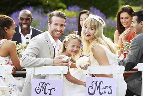 Maes Manor - Wedding Package For 50 Day Guests and 75 Evening Guests - Save 51%