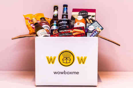 WowBoxMe - Non alcoholic surprise snack box or alcoholic surprise snack box - Save 43%