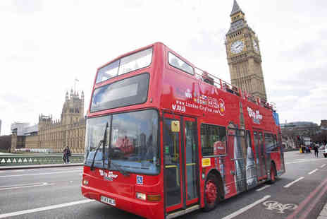 London City Tour - Child or adult ticket for a hop on, hop off bus tour - Save 41%