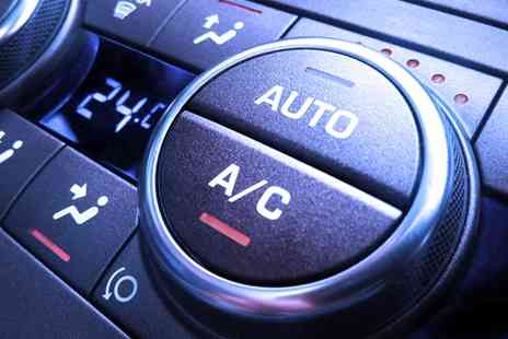 Drivers Autocentre - Car Air Conditioning Service with Re Gas and Optional Safety Check - Save 0%