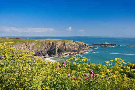Fishguard Holiday Park - Three or four night Pembrokeshire coast caravan break for up to six - Save 63%