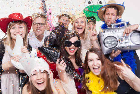 Photobooth Legend - Two hours of photo booth hire with attendant and props - Save 57%