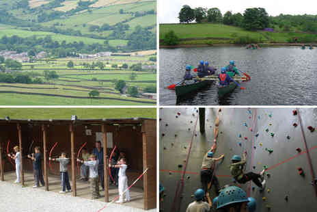 High Adventure Outdoor Education Centre - Seven day residential summer camp for one child - Save 42%