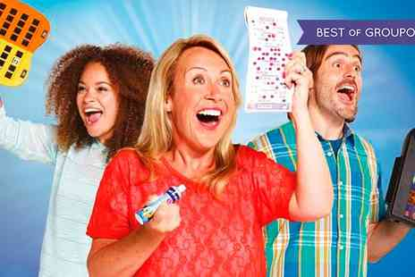 Gala Bingo - Bingo with Wine or Prosecco for Two or Four - Save 65%