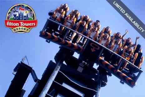 Alton Towers Resort - All Day Ticket to Alton Towers Resort for Child £16.20 - Save 50%
