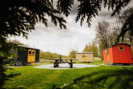 Samlesbury Hall - Overnight Shepherds hut stay for two people - Save 41%