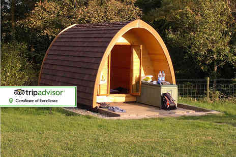 Gill Head Farm - Two night Lake District glamping break in a wooden camping pod for two - Save 39%