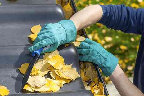 Professional Cleaning - Professional Gutter Cleaning - Save 54%