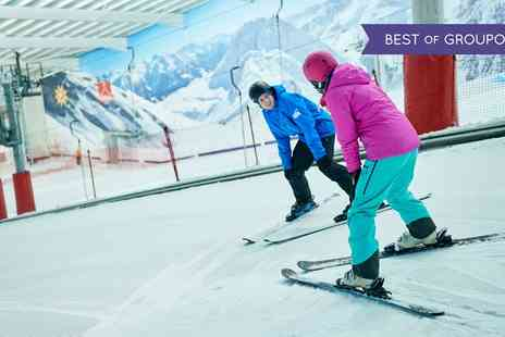 Hemel Snowcentre - Two or Twelve Hours of Group Ski or Snowboard Lessons for One - Save 52%