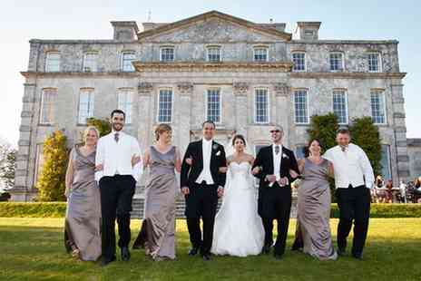 Kingston Maurward - Country House Summer Wedding Package for 50 Day and 80 Evening Guests - Save 58%
