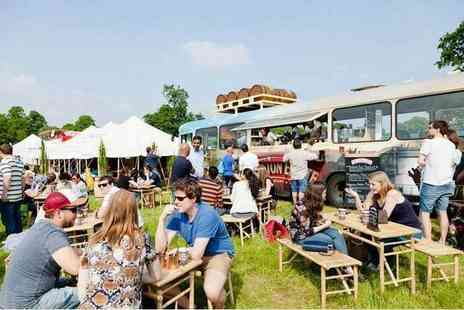 Foodies Festival - Get one, two or four tickets to Foodies Festival - Save 32%