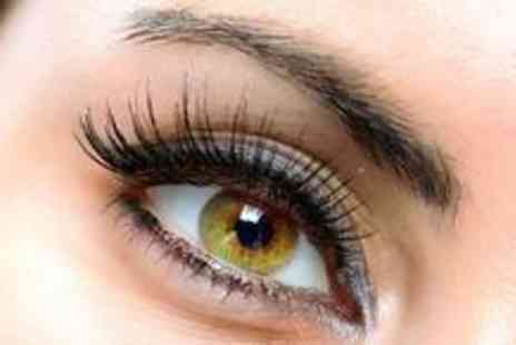 Beauty Above - Hollywood eyelash extensions with an eyelash tint and eyebrow shape - Save 75%