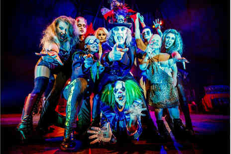 The Circus of Horrors - Grandstand ticket to Circus of Horrors, The Never Ending Nightmare in one of six locations - Save 55%