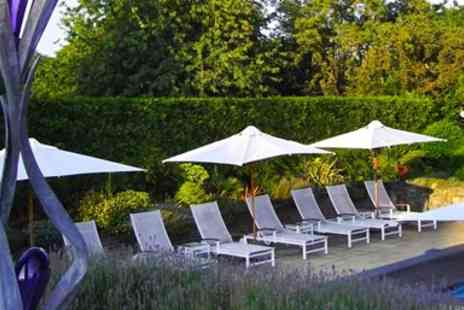 Fredricks Hotel -- Stylish Spa Day with Lunch & 60 Min Massage or Facial - Save 49%