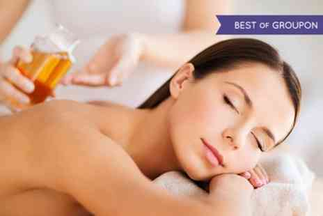 Depilex Health and Beauty - Back, Neck and Shoulder Massage or a Full Body Massage with Aromatic Oils - Save 50%