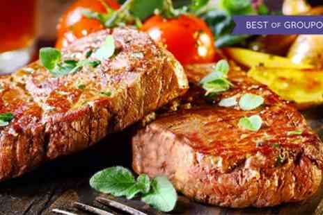 Maison Paul Bistro & Grill - Rib Eye Steak Meal with a Glass of Prosecco for Up to Four - Save 43%