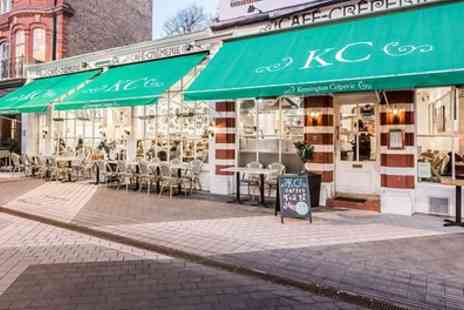 Kensington Crêperie - Sweet Crepes and Smoothie or Savoury Crepes and Wine - Save 50%