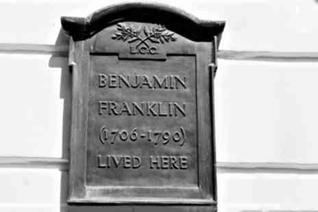 Benjamin Franklin House - Benjamin Franklins House Tickets with Architectural Tour or Historical Experience for Two - Save 42%
