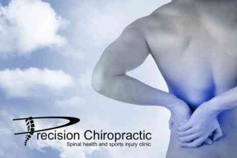 Precision Chiropractic - Consultation and Three Treatment Sessions For Two People £52 - Save 84%