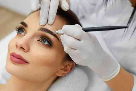 Nails in the City - Semi permanent eyebrow microblading treatment - Save 66%