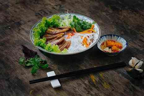 Buyagift - Four course Vietnamese and glass of wine for two - Save 0%