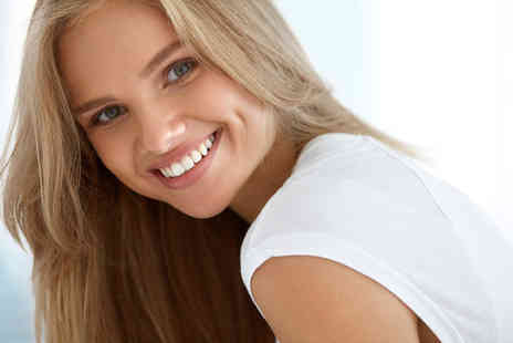 The Whitening Clinic - One hour teeth whitening treatment with a dental examination - Save 77%
