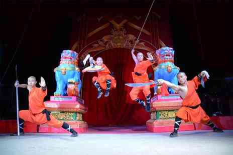 Chinese State Circus - Front circle ticket to Chinese State Circus at a choice of two locations - Save 63%