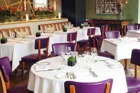 The River Bar & Restaurant - Two Rosette Meal & Bubbly for 2 - Save 46%