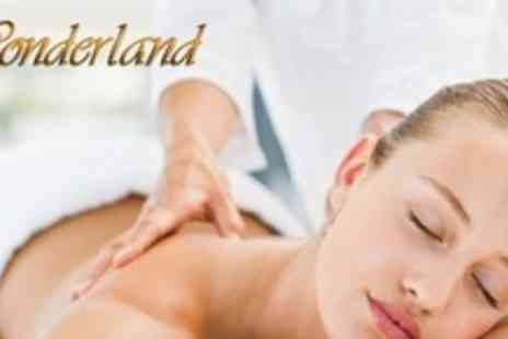 Wonderland Nails & Beauty - Choice of Massage Such as Full Body or Therapeutic - Save 71%