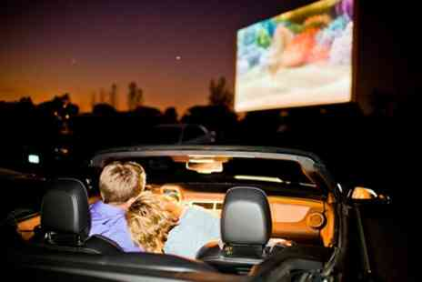 Moonlight Drive-in Cinema - Drive in cinema admission for one car - Save 30%