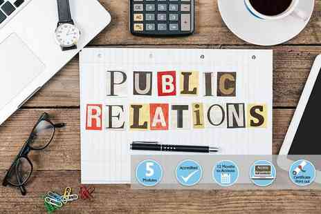 Event Trix - Online public relations course - Save 81%
