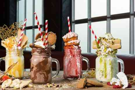 The Swan Hotel - Choice of Two Freakshakes - Save 0%