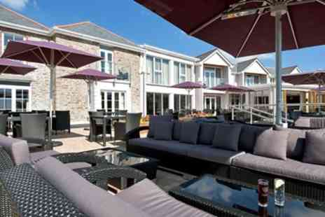 The Llawnroc Hotel - Two Night Cornwall Stay including Breakfast - Save 0%