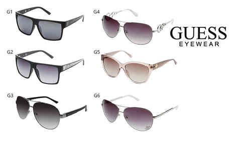 IDT Spa - Pair of Guess sunglasses select from 10 designs - Save 74%