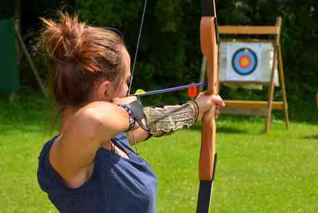 1066 Target Sports - Two hour Introduction to Archery course for one or two - Save 72%