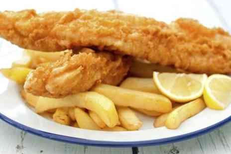 The Heritage Fish & Chips - Fish and Chips for Up to Four - Save 44%