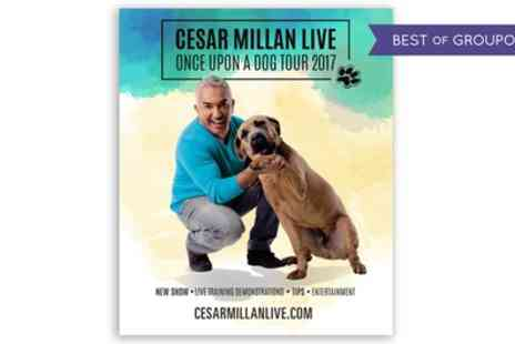 Cesar Millan - One seated ticket to Cesar Millan Once upon a Dog Tour on 26 March - Save 47%