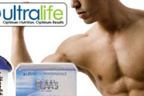 Ultralife - Give your body a well needed boost with Ultralife drink sachets and mixer cup - Save 55%