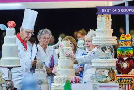 ICHF - One afternoon ticket to Cake International on 22 To 23 April - Save 0%