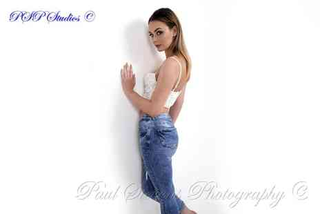 Paul Stevens Photography - Gamour, boudoir or model photoshoot & DVD or prints package - Save 0%