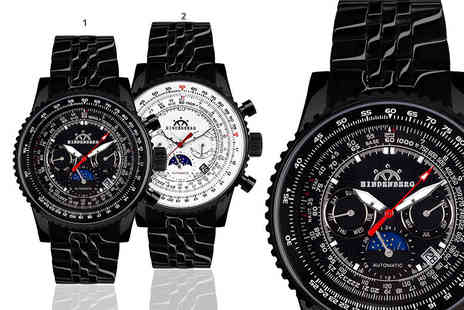 Kendor Van Noah - Hindenberg Air Fighter watch choose from four designs - Save 81%