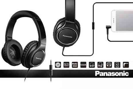 Hanaco - Pair of Panasonic RP-HD6M over ear headphones - Save 45%